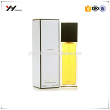 High quality custom printing UV logo perfume box packaging